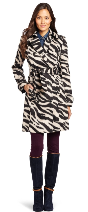Anne Klein Women's Petite Trench Coat