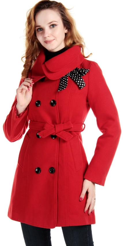 Coat Slim Trench Winter Coat Long Jacket Outwear