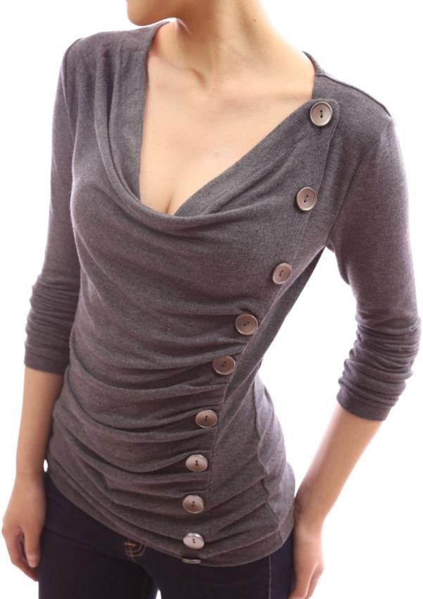 Batik Gauzy Cotton Tunic Blouse