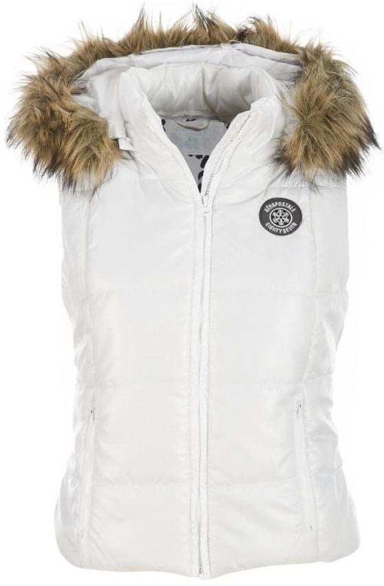 Womens Detachable Hooded Puffer Puffer Vest Outerwear