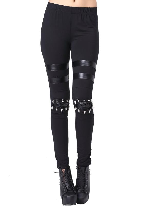 Style Elastic Waist Cotton Leggings