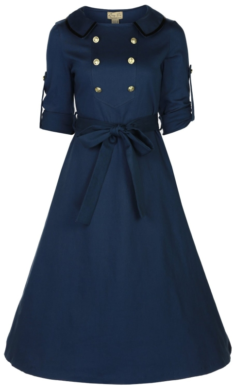 Military Tea Dress