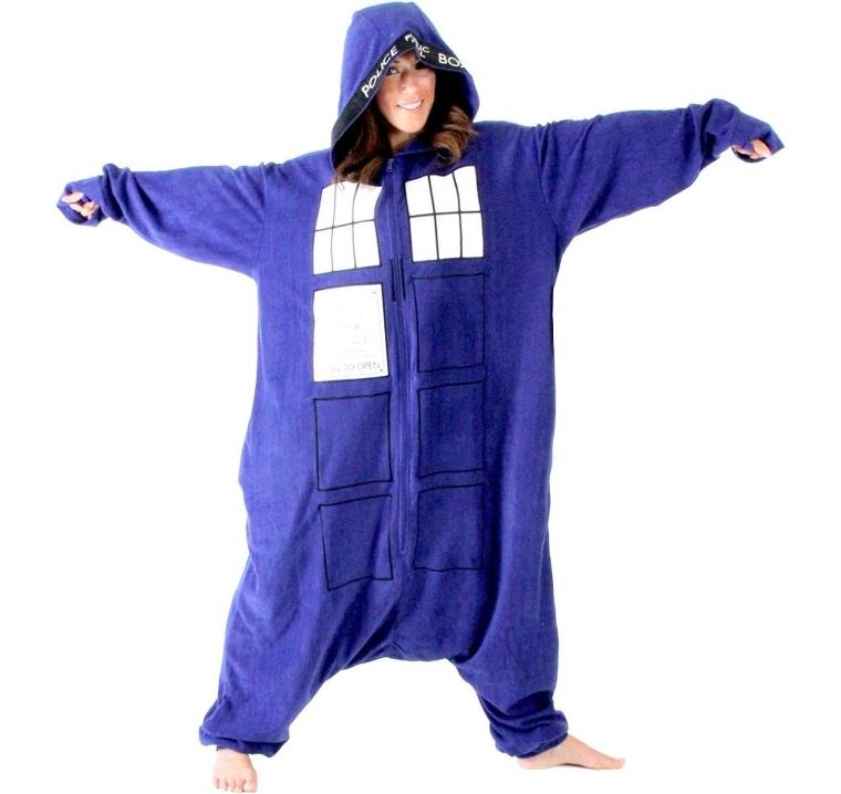 Doctor Who Police  Pajama Costume
