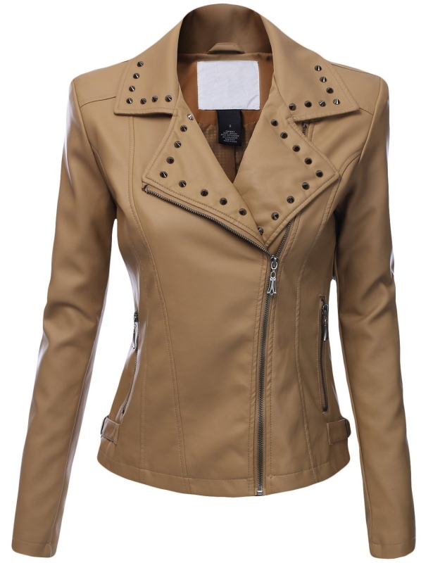 Leather Rider Motorcycle Jacket