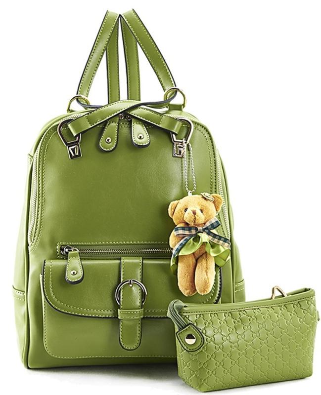 Leather Single-shoulder Bag Dual-use Backpack