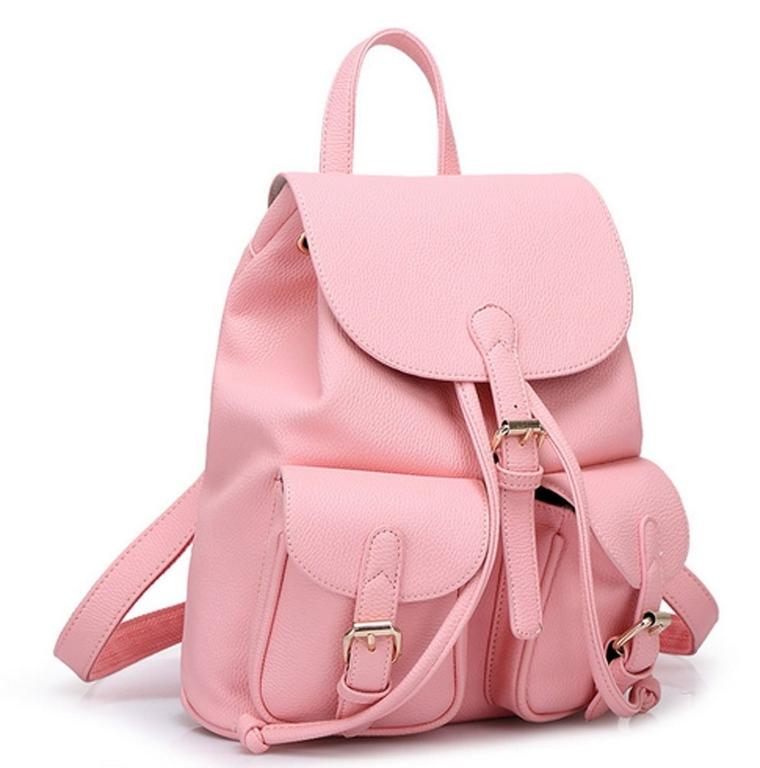 Women Soft Leather Lovely Backpack