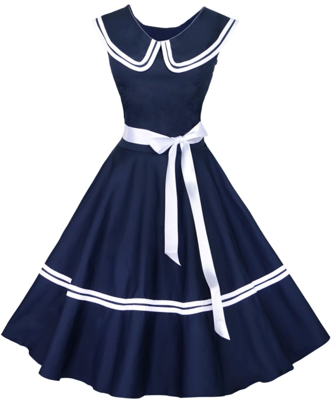 1950s Vintage Rockabilly Dress