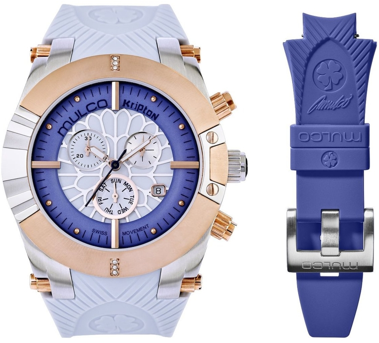 Women's Quartz Blue Watch