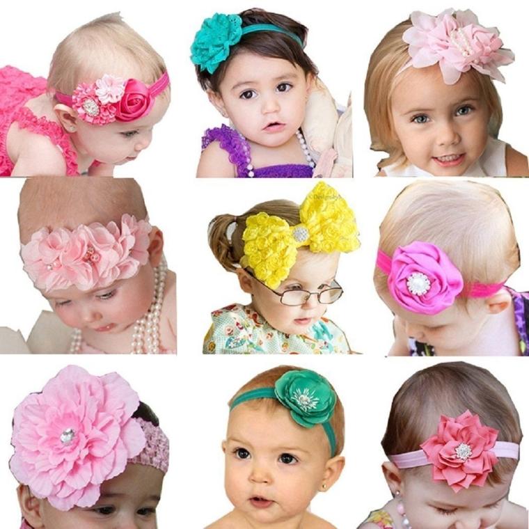 Baby Girl's Beautiful Headbands