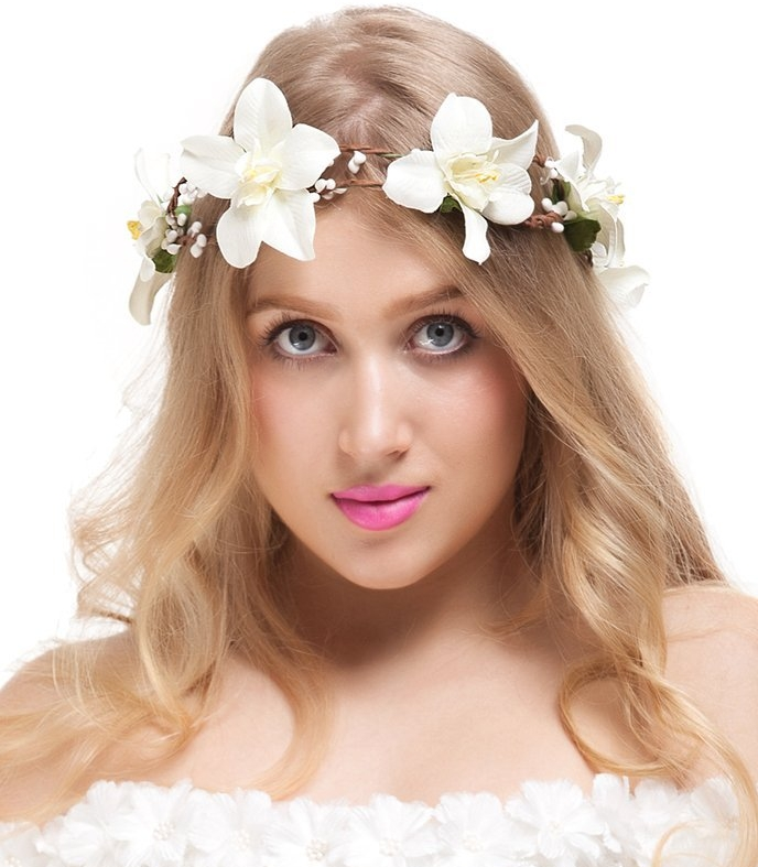 Headband Floral Crown Garland