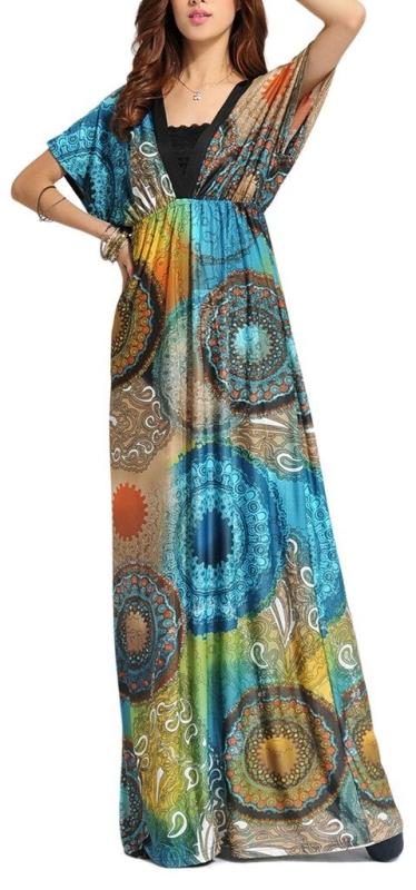 Paris Summer Maxi Dress