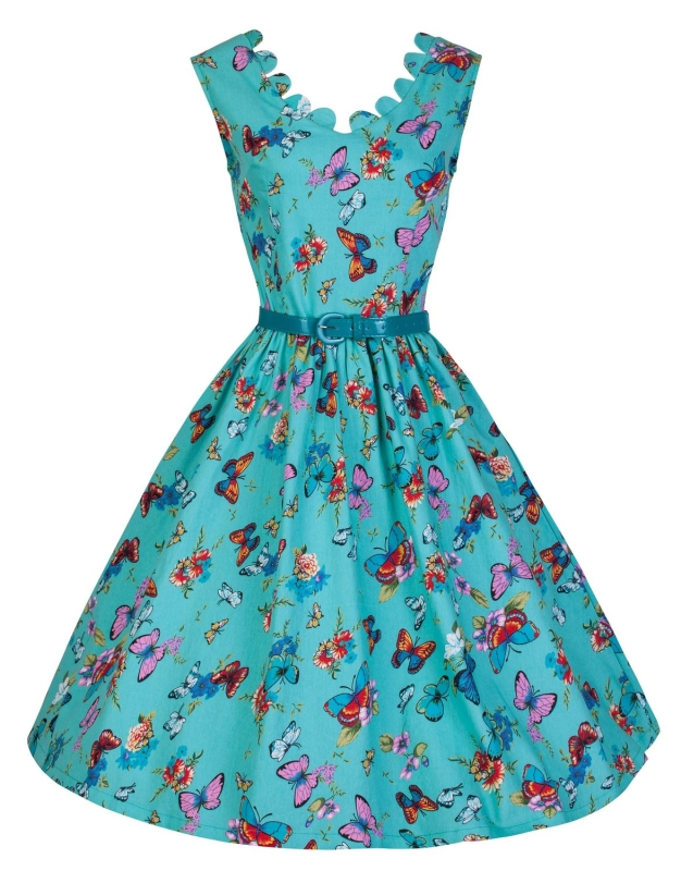 Summer Meadows Swing Day Dress