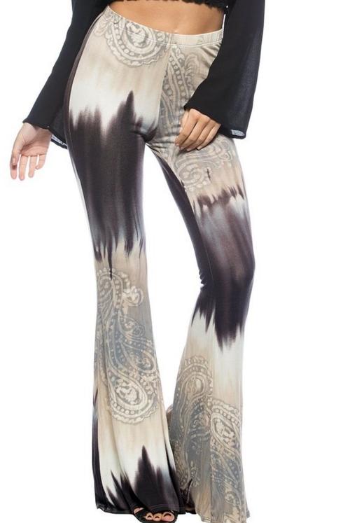 Paisley Vintage Inspired 70s Boho Pants