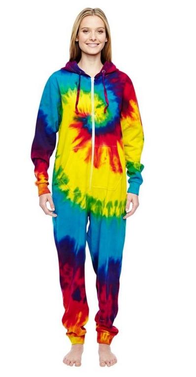 Tie-Dye All-In-One Loungewear