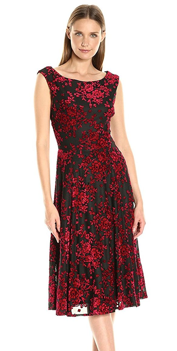 betsey-johnson-womens-burnout-velvet-dress