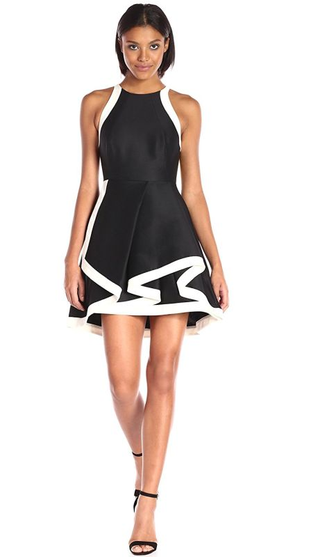 womens-sleeveless-high-neck-structured-dress-and-tiered-skirt