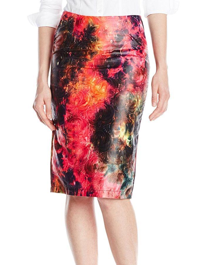BUSAYO Women's Love Me Some Neon Skirt
