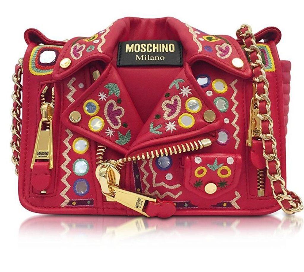 Moschino Leather Shoulder Bag Raluca Fashion