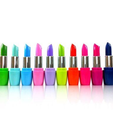12 Colors Assorted Lipsticks with Aloe Vera and Vitamin E