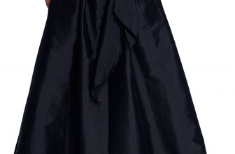 Adrianna Papell Womens Blouse High-Low Taffeta Gown