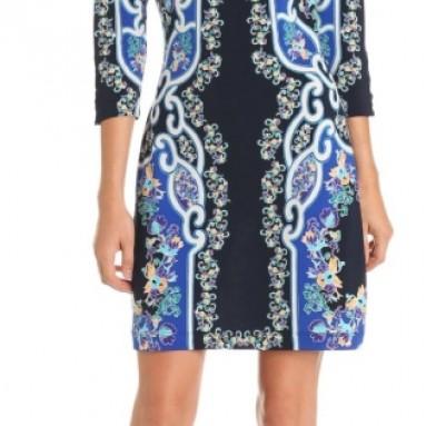 Ali Ro Women's Print Jersey Dress