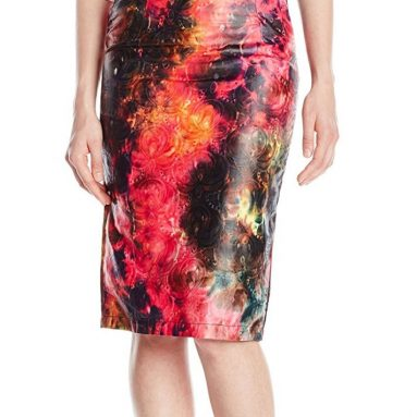 BUSAYO Women's Love Me Some Neon Skirt