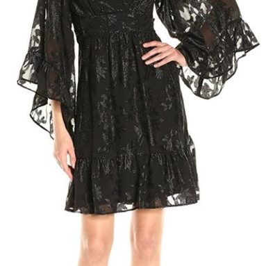 Betsey Johnson Women's Novely Chiffon