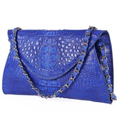 Crocodile Messenger Bags Crossbody Clutch Women Shoulder Handbags