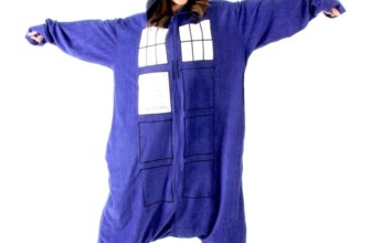 Doctor Who Police  Pajama Costume