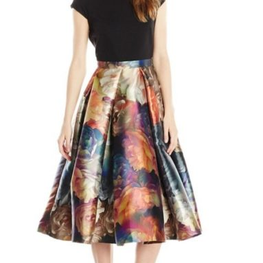Eana Technicolor Bloom Dress