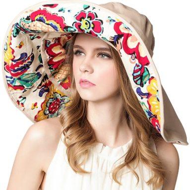 Foldable Roll up Swimming  Beach Sun Hat