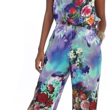 Hadari Women's Floral Jumpsuit