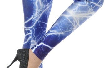 Lightning Flash Print Leggings