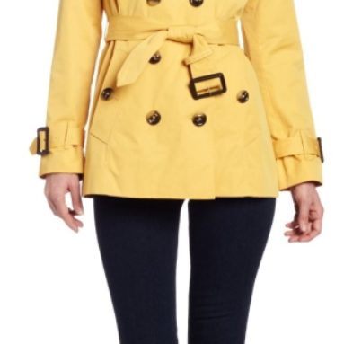 London Fog Women's Heritage Short Trench Coat