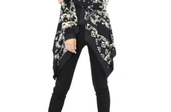 Long Sleeve Open Front Knit Waterfall Cardigan
