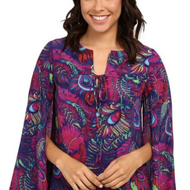 Nanette Lepore Women's Pretty Plumes Top