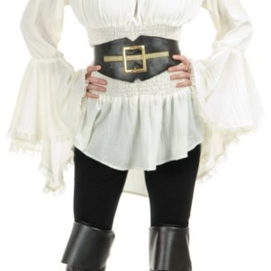 Pirate Lady Vixen Costume Blouse