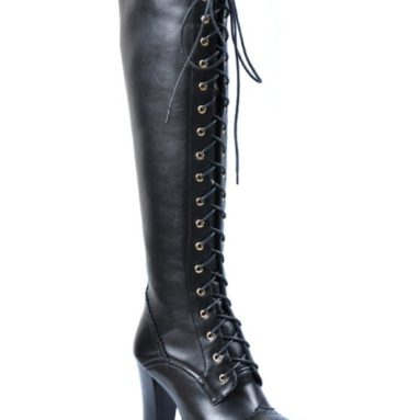 Punk Knee High Dress Boots