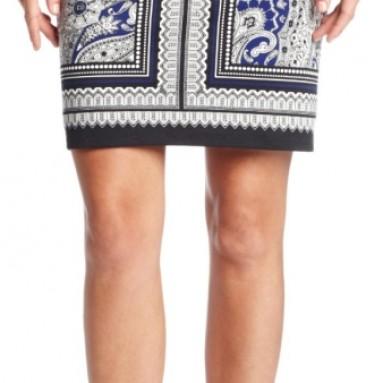 Rafaella Women's Astrology Paisley Skirt