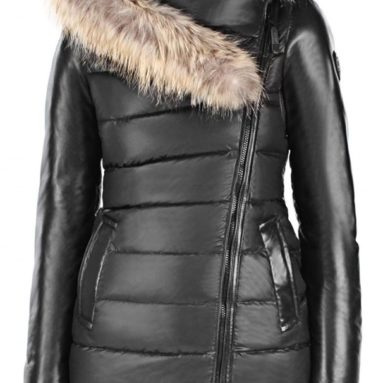 Rudsak Women's Roya Down Coat with Fur Trim Hood
