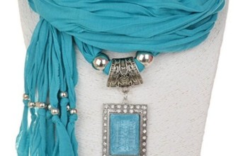 Shawl Necklace Scarves Pendant Women