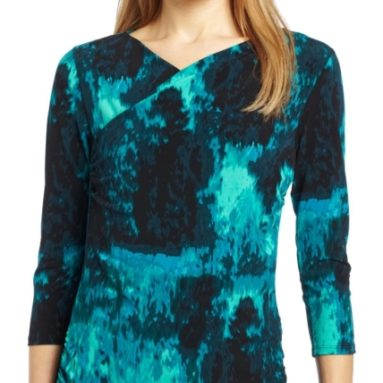 Sleeve High Wrap Forrest Top