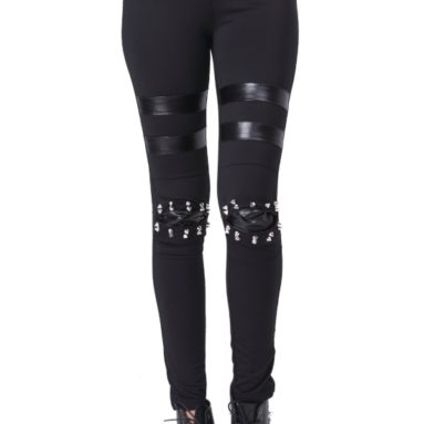 Style Elastic Waist Cotton Leggings