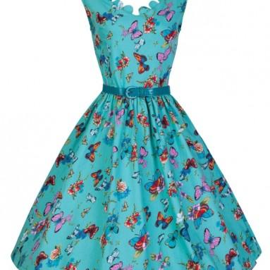 Summer Meadows Swing Day Dress