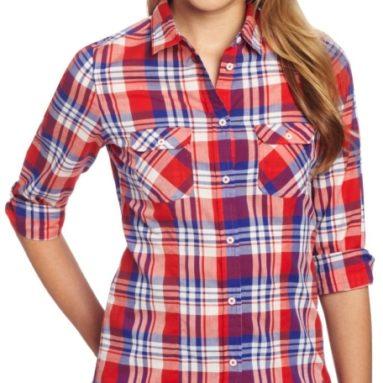 U.S. Polo Assn. Juniors Plaid Woven Shirt