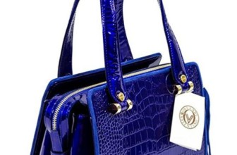 Valentino Orlandi Cobalt Blue  Bag