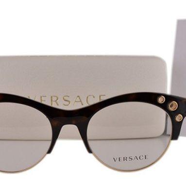 Versace Eyeglasses Havana