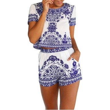 Women Short Sleeve Print