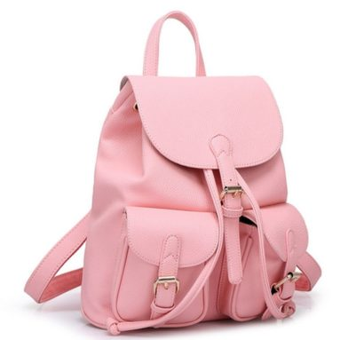 Women Soft Leather Lovely Backpack