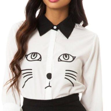 Women's Cat Blouse